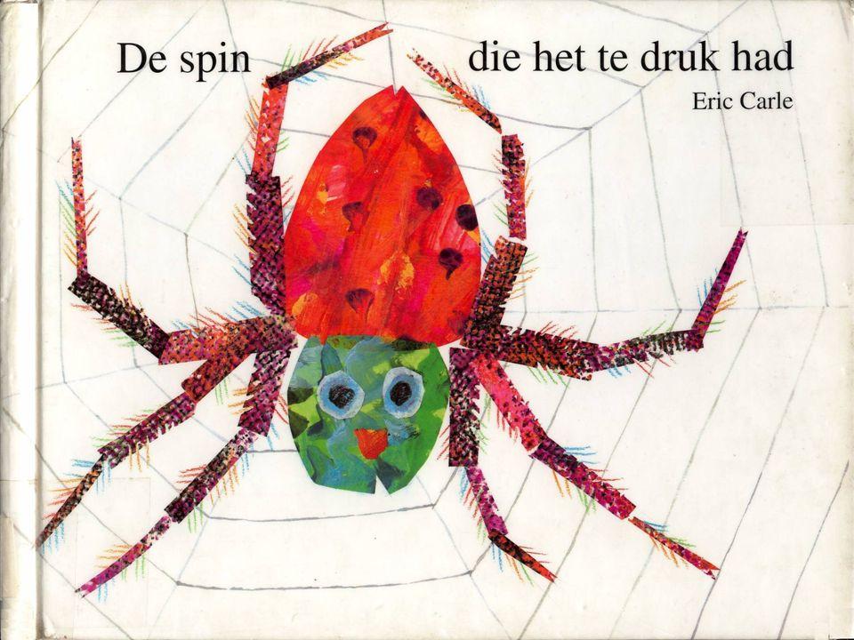 En dat deed de spin. Ze ving de vlieg…midden in haar web.