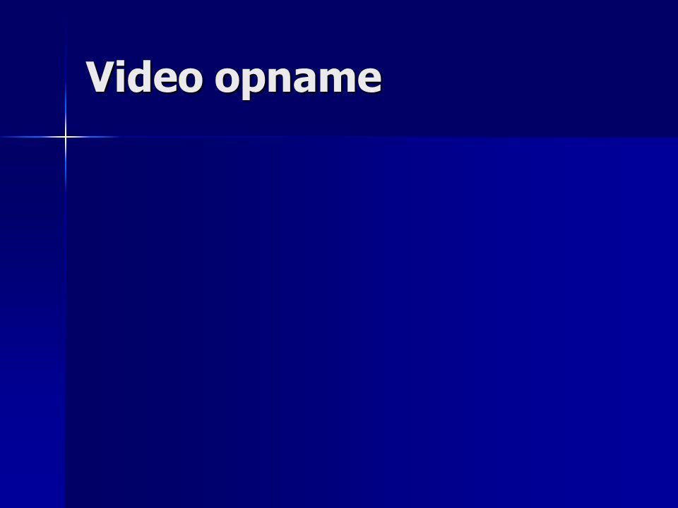 Video opname