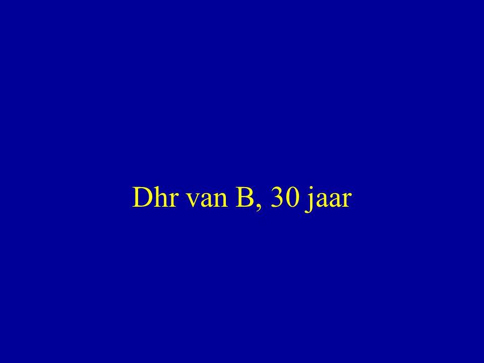 Dhr van B, 30 jaar
