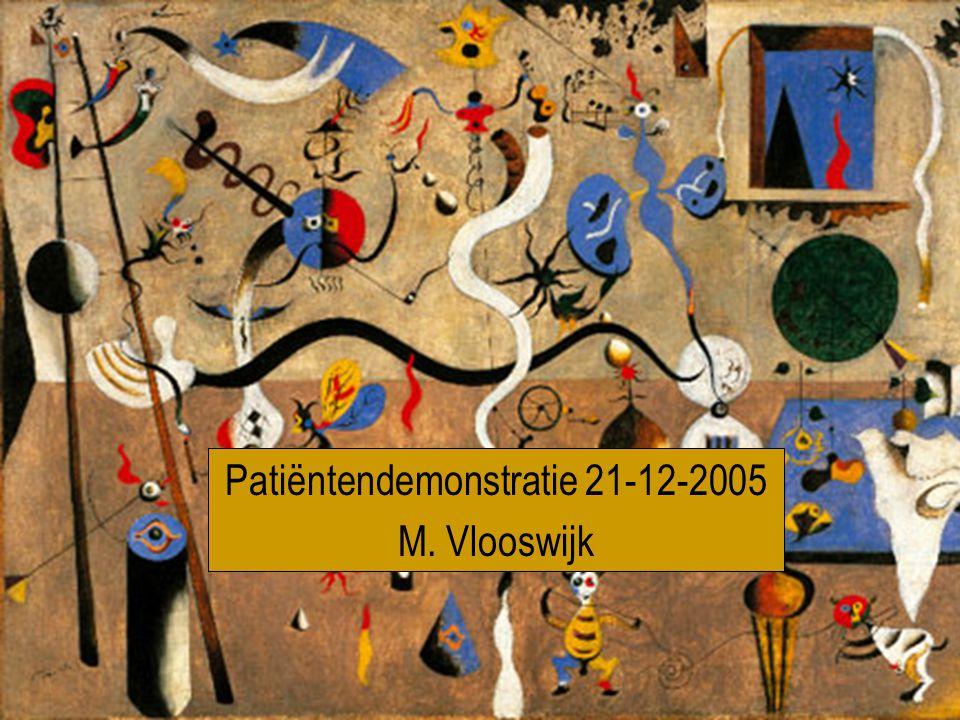 Patiëntendemonstratie 21-12-2005 M. Vlooswijk