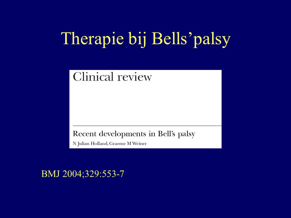 Review BMJ Support the use of oral prednisone with aciclovir in patients presenting with moderate to severe facial palsy, ideally within 72 hours Would not recommend using aciclovir without steroids unless steroids are contraindicated Support the use of oral aciclovir with prednisone in patients presenting within a first week with moderate to severe facial palsy