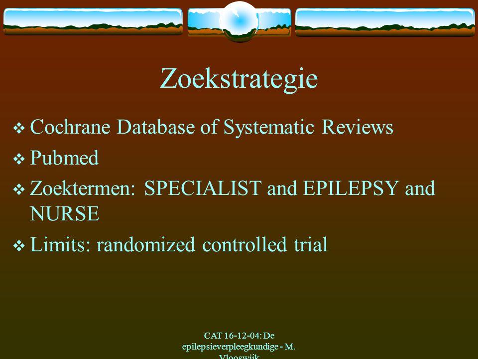 CAT 16-12-04: De epilepsieverpleegkundige - M.