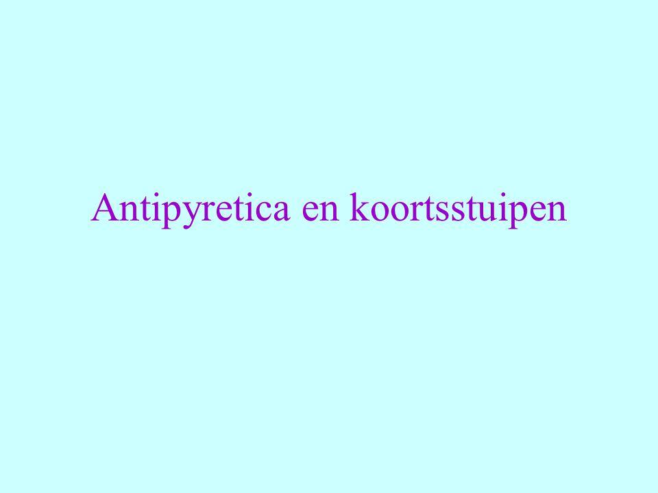Antipyretica en koortsstuipen