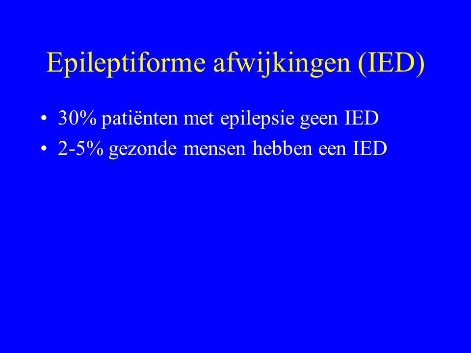 ….en verder 30% van mensen op ICU maakt een (al dan niet non-convulsieve) epileptische aanval door 10% van ICU patiënten non-convulsieve status