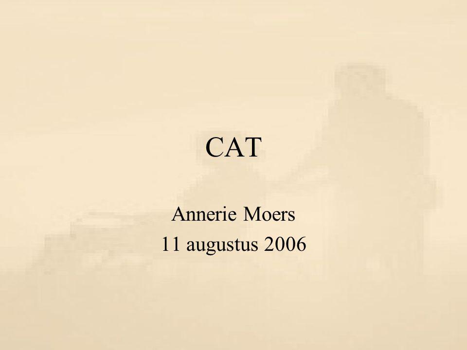 CAT Annerie Moers 11 augustus 2006