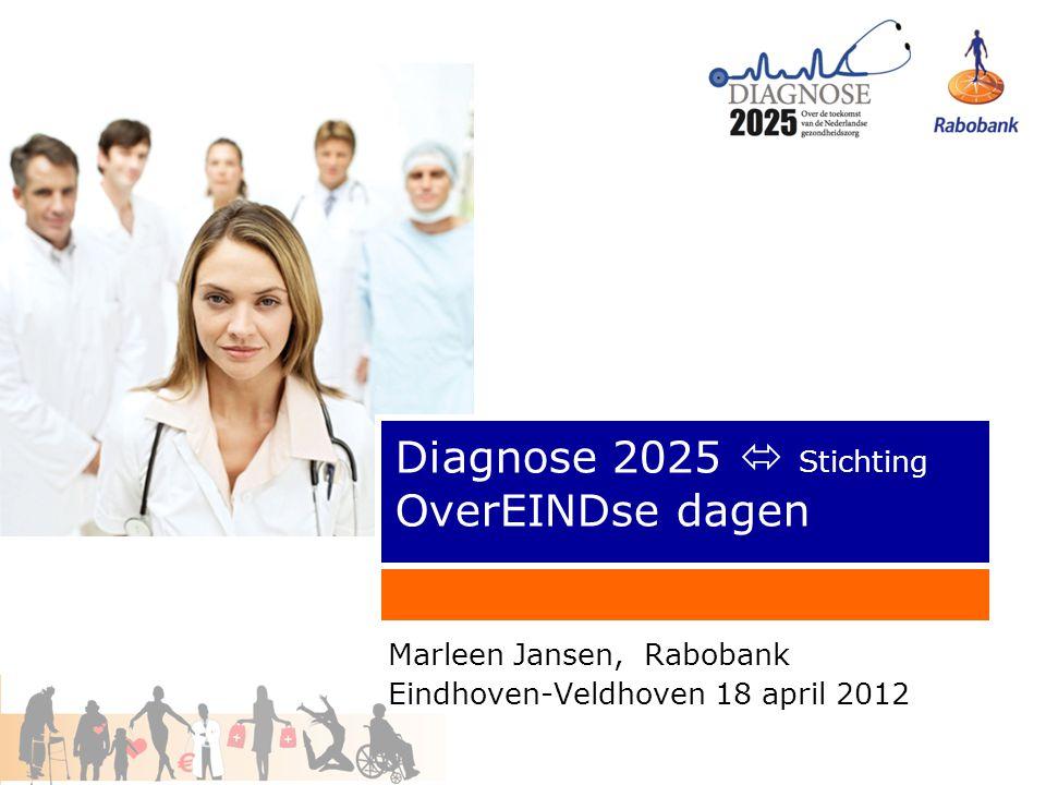 2 2001122 Agenda Opening door middel van stellingen Inleiding: Diagnose 2025 DVD Nederland in 2025 in laagconjunctuur 4 belangrijkste trends uit Diagnose 2025 DVD Nederland in 2025 in hoogconjunctuur