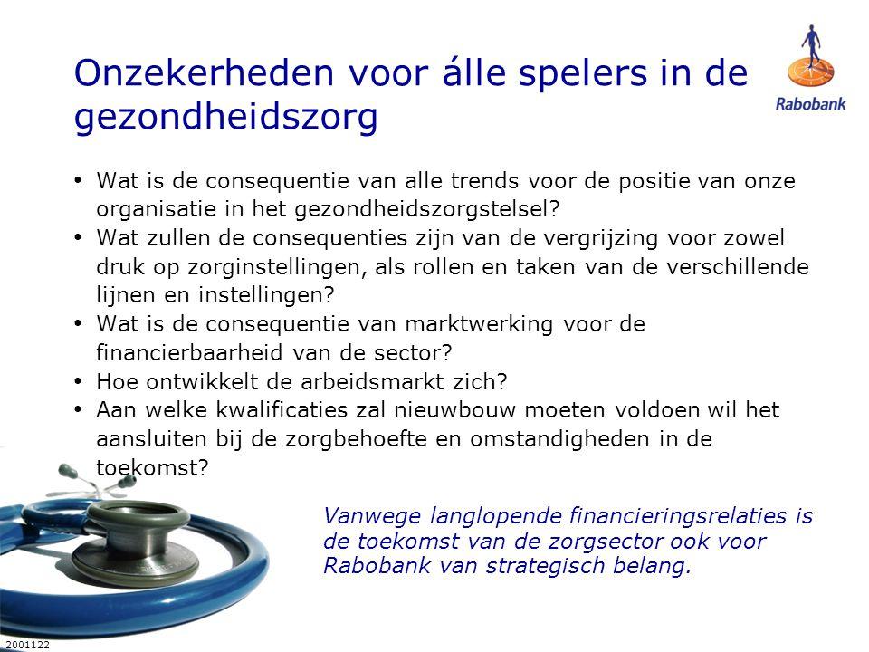 18 2001122 Stelling 1 Samenwerking tussen de eerste en tweede lijn is voor chronisch zieken uitstekend geregeld