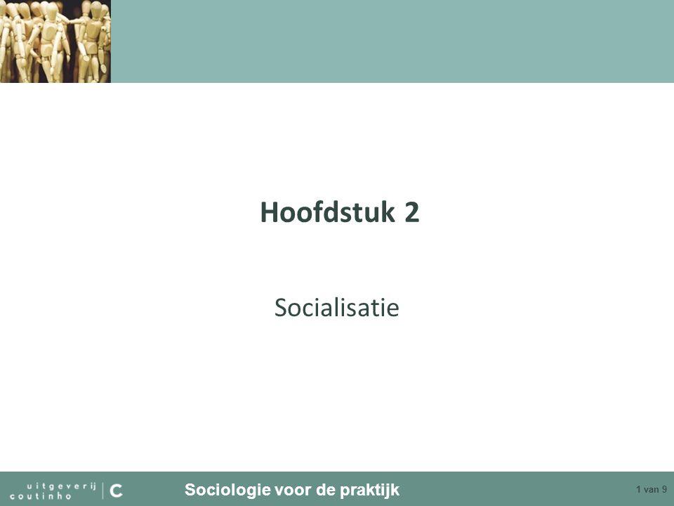 Sociologie voor de praktijk 1 van 9 Hoofdstuk 2 Socialisatie