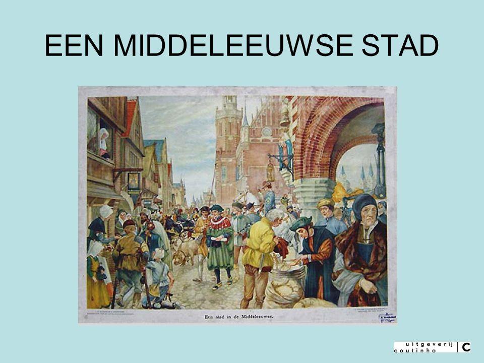 Het was geen pretje om in een middeleeuwse stad te leven: overal lawaai en stank.