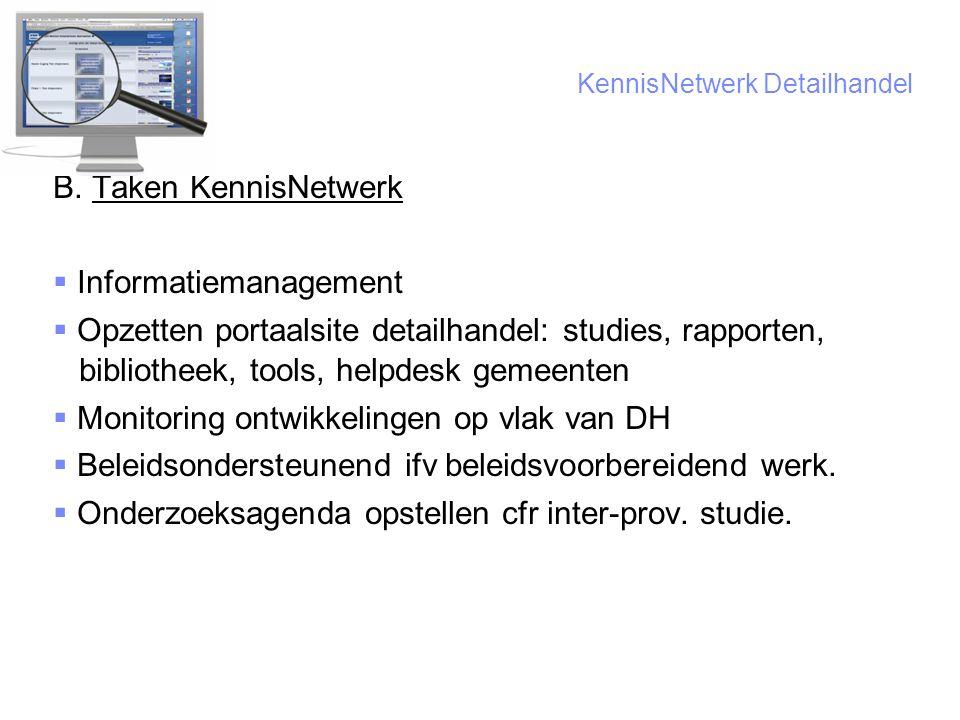 10 KennisNetwerk Detailhandel B.