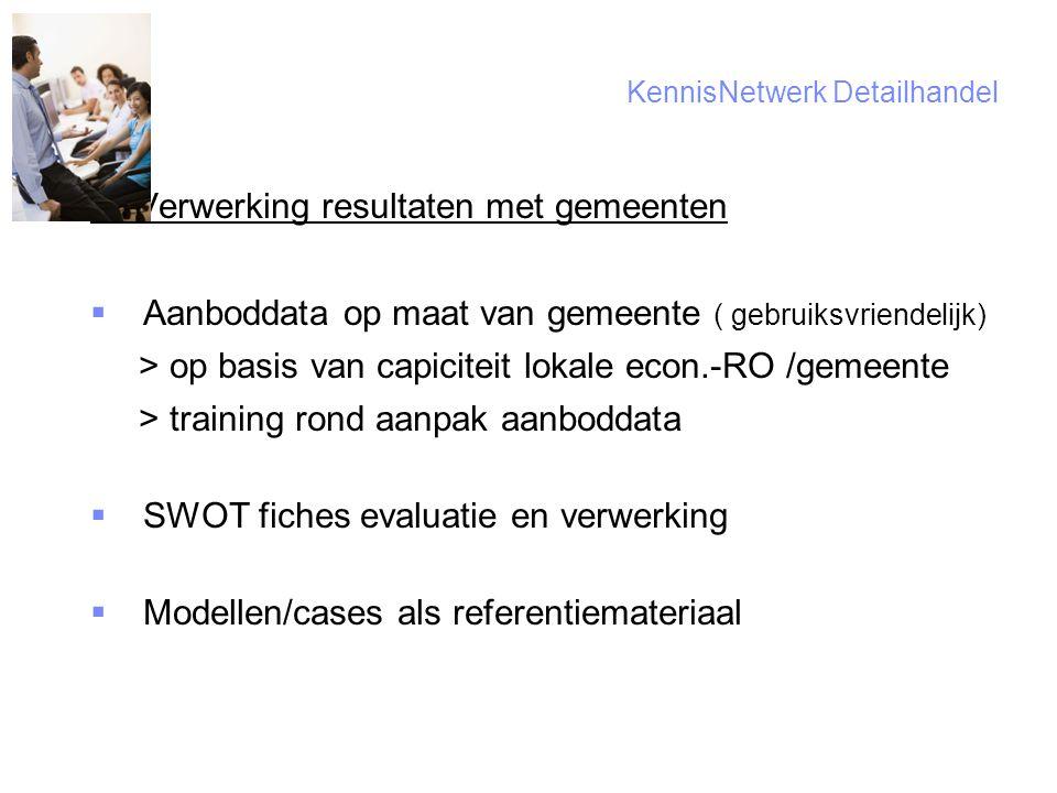 6 KennisNetwerk Detailhandel C.