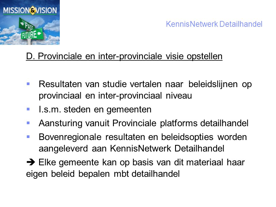 7 KennisNetwerk Detailhandel D.