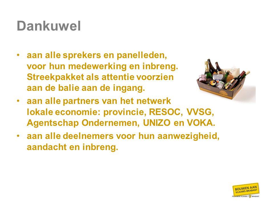 Netwerkreceptie met streekproducten!