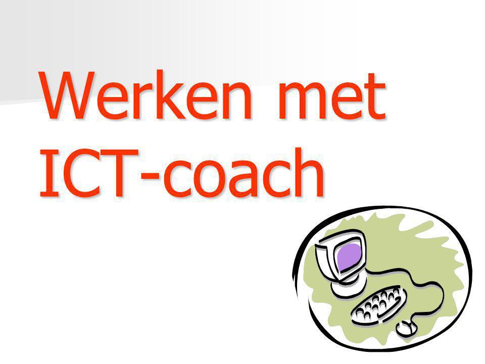 Werken met ICT-coach