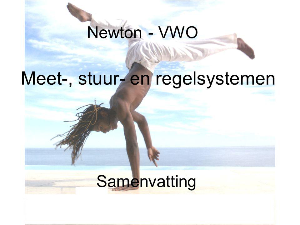 Newton - VWO Meet-, stuur- en regelsystemen Samenvatting