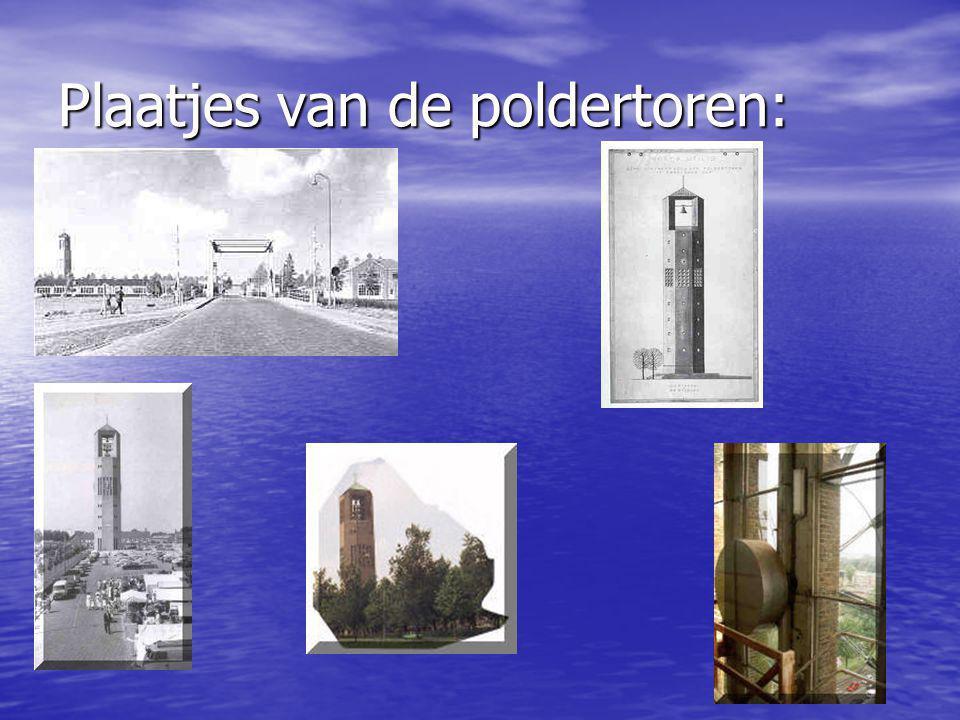 Plaatjes van de poldertoren:
