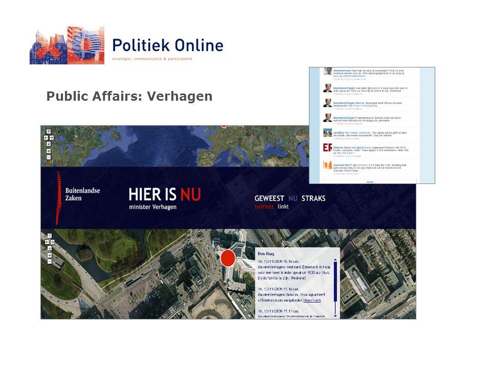 Public Affairs: Verhagen