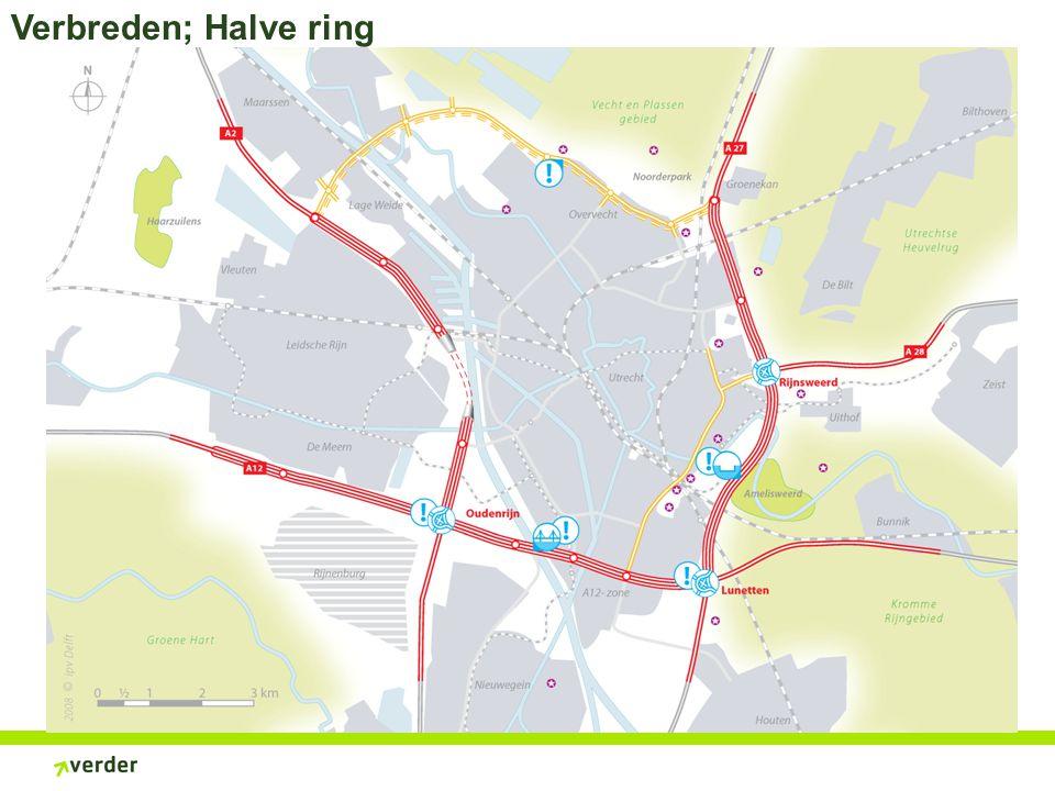 Verbreden; Halve ring