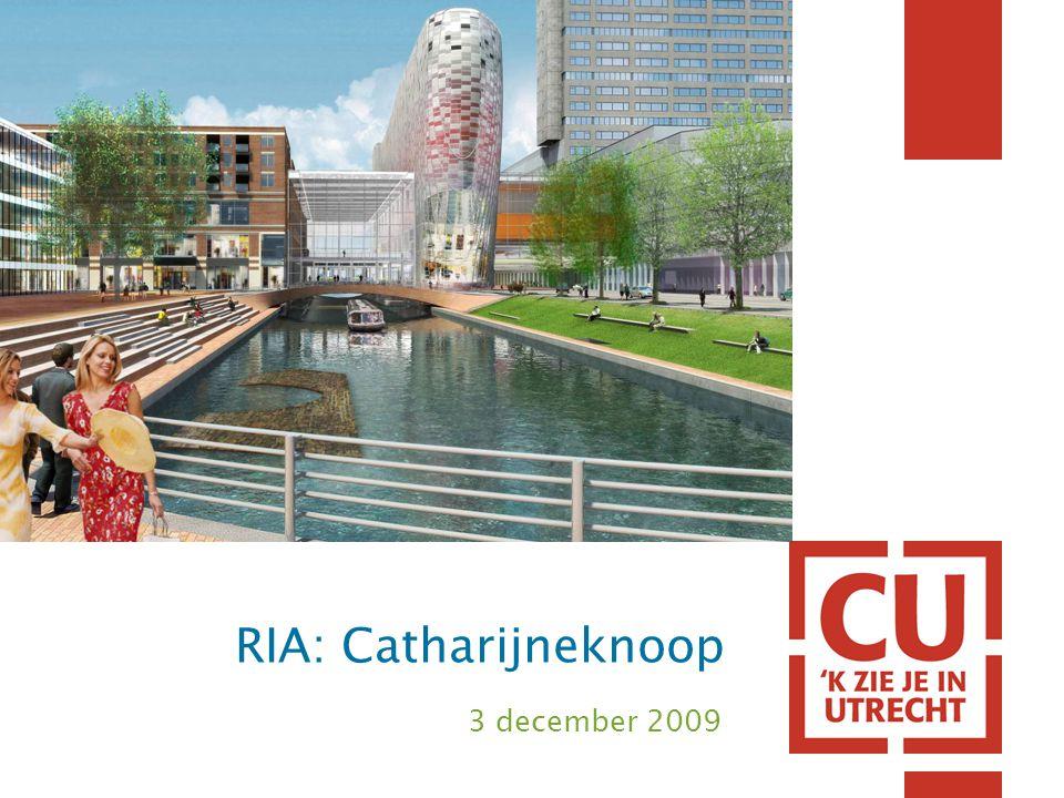 Catharijnebaan; zicht vanaf Vredenburgviaduct