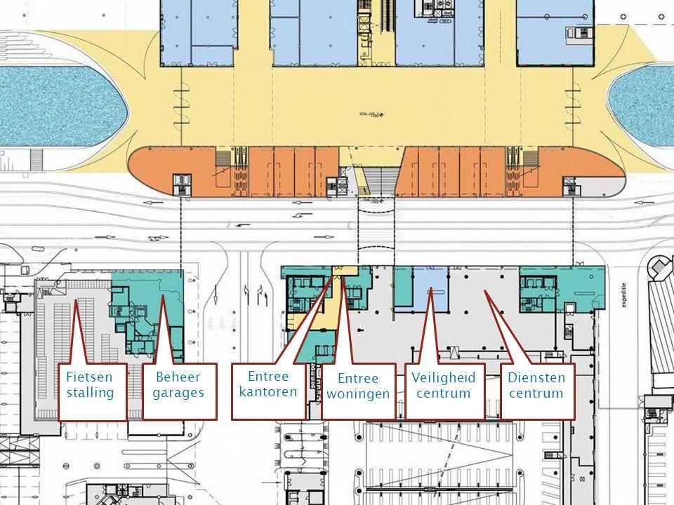 Fietsen stalling Beheer garages Entree kantoren Entree woningen Veiligheid centrum Diensten centrum