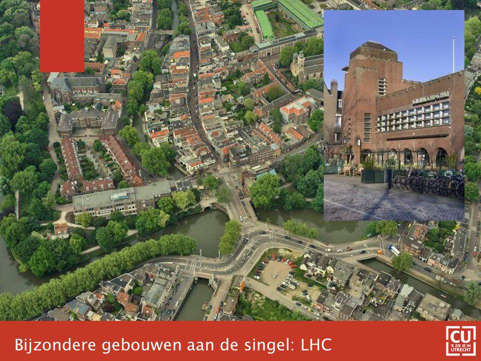 Bijzondere gebouwen aan de singel: LHC