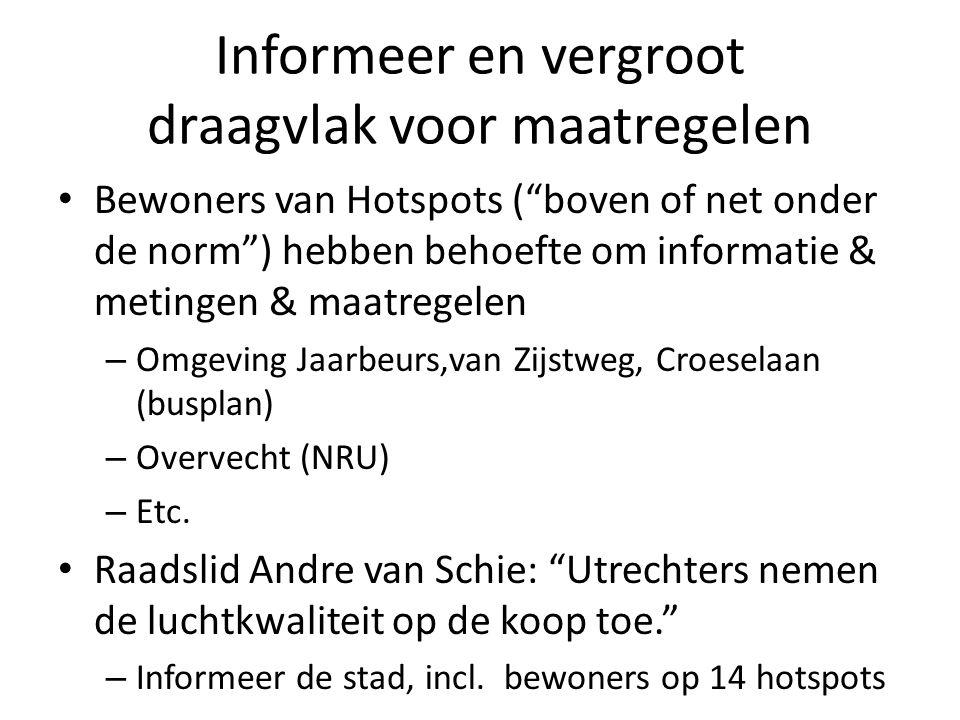 Doelgroep en aanpak Gemeente Amsterdam: Belangrijkste doelgroep zakelijke veelrijders Aanpak 1.