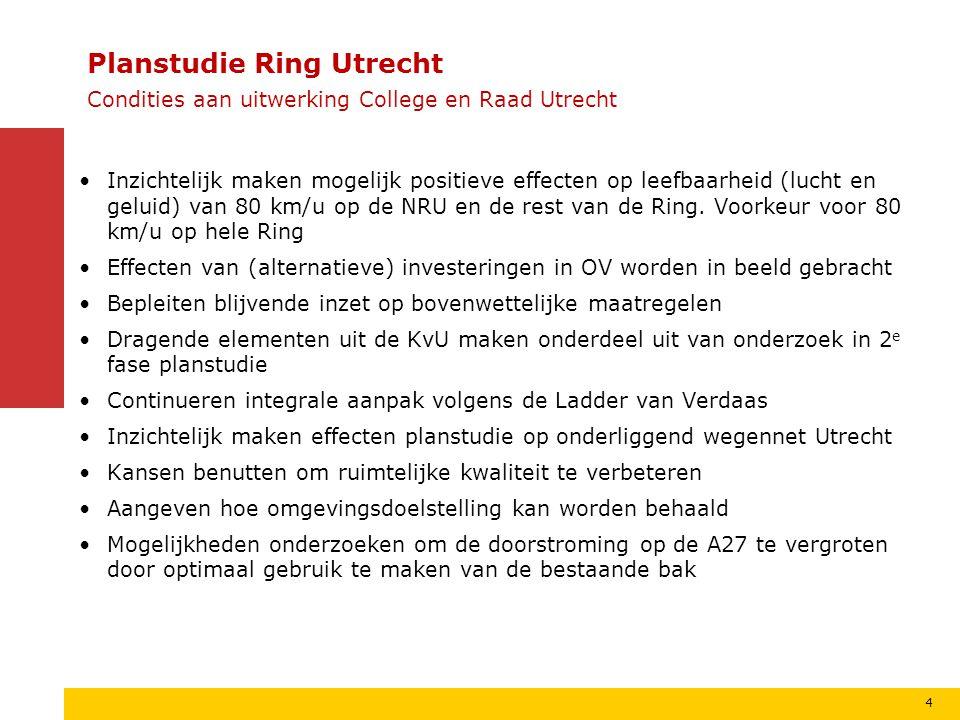 15 Planstudie Ring Utrecht Deeltracés onderdeel A27/A12