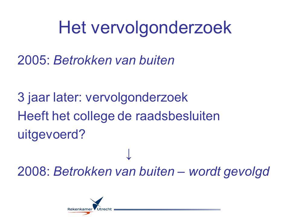 Externe inhuur Gemeente Utrecht in 2007: EUR 103 miljoen, waarvan EUR 43 miljoen aan accountants- en advieskosten Worden deze middelen aantoonbaar zorgvuldig besteed?