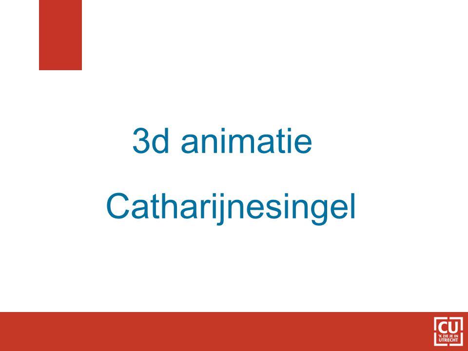 3d animatie Catharijnesingel