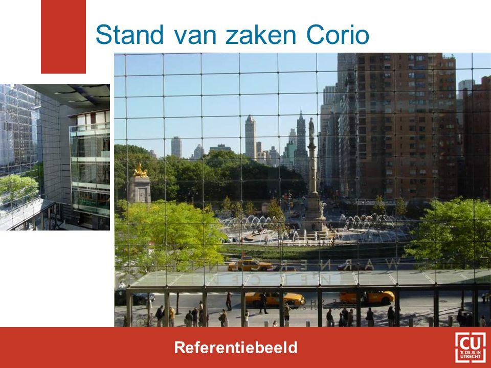Stand van zaken Corio Referentiebeeld