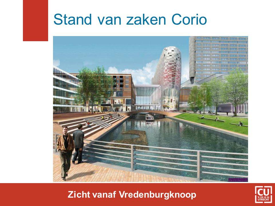 Stand van zaken Corio Zicht vanaf Vredenburgknoop