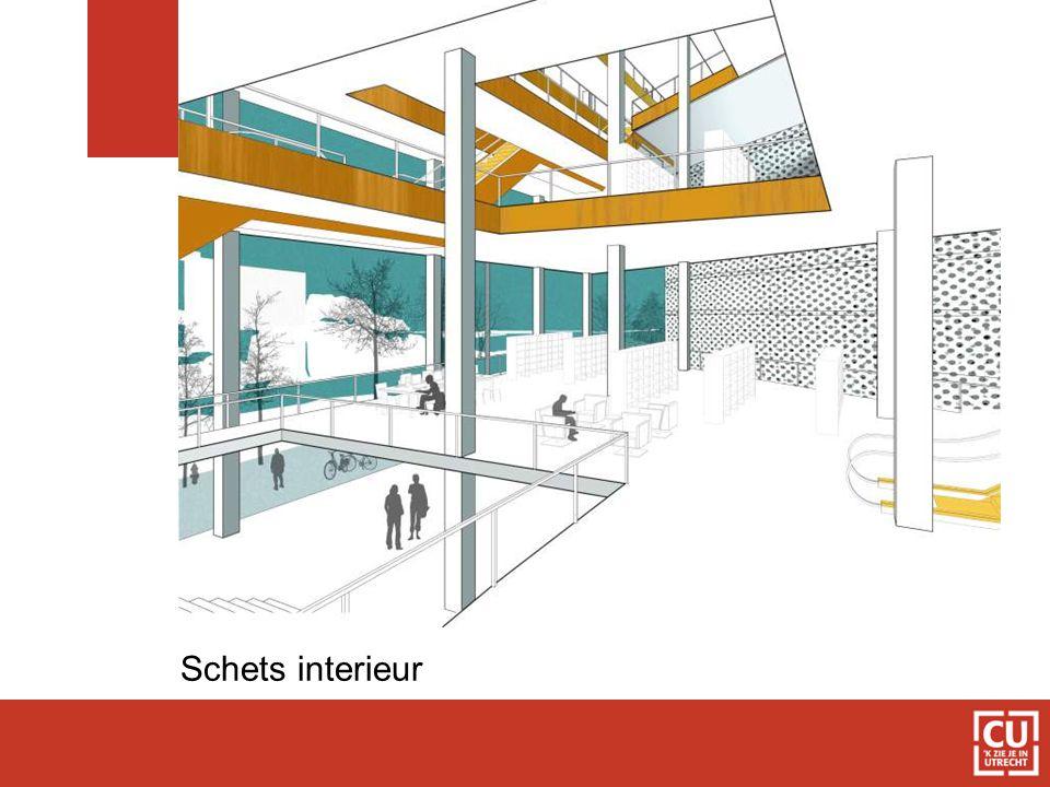 Schets interieur