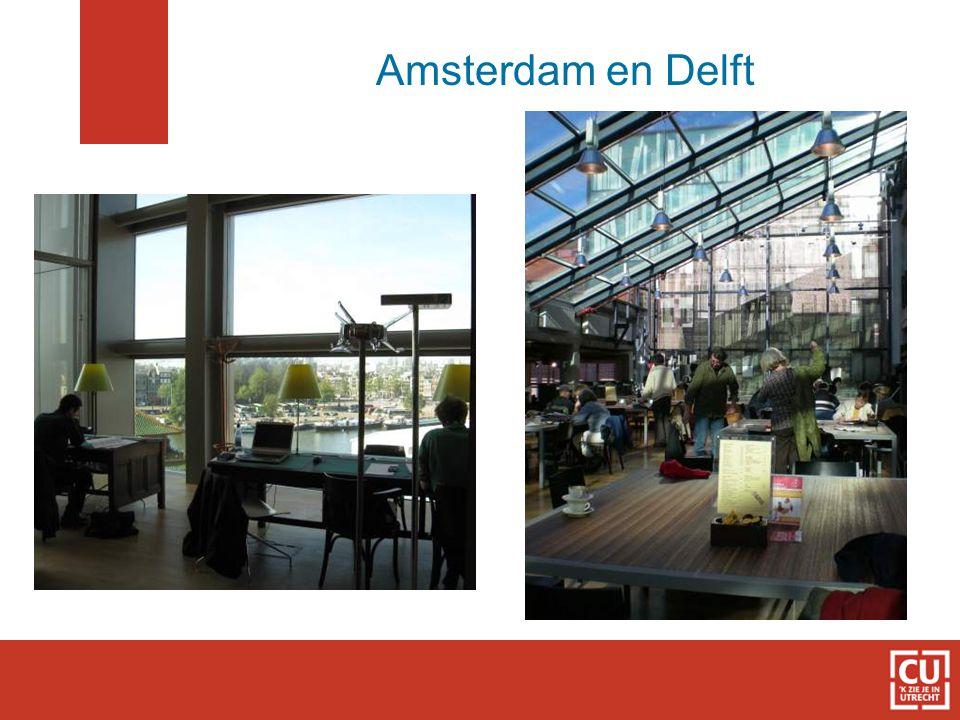 Amsterdam en Delft