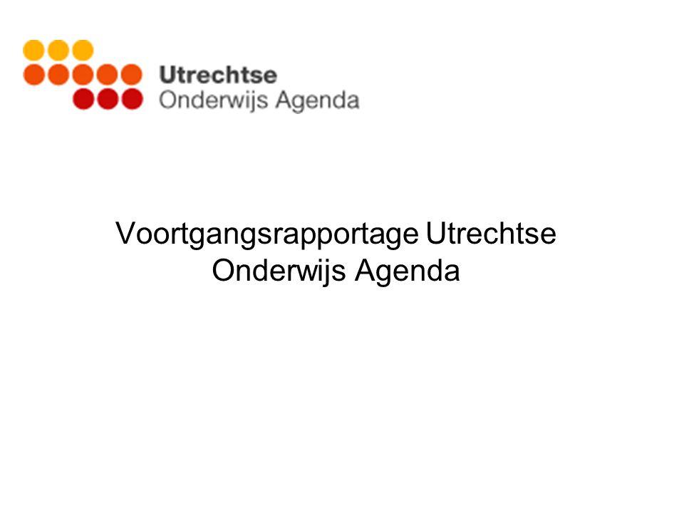 Voortgangsrapportage Utrechtse Onderwijs Agenda