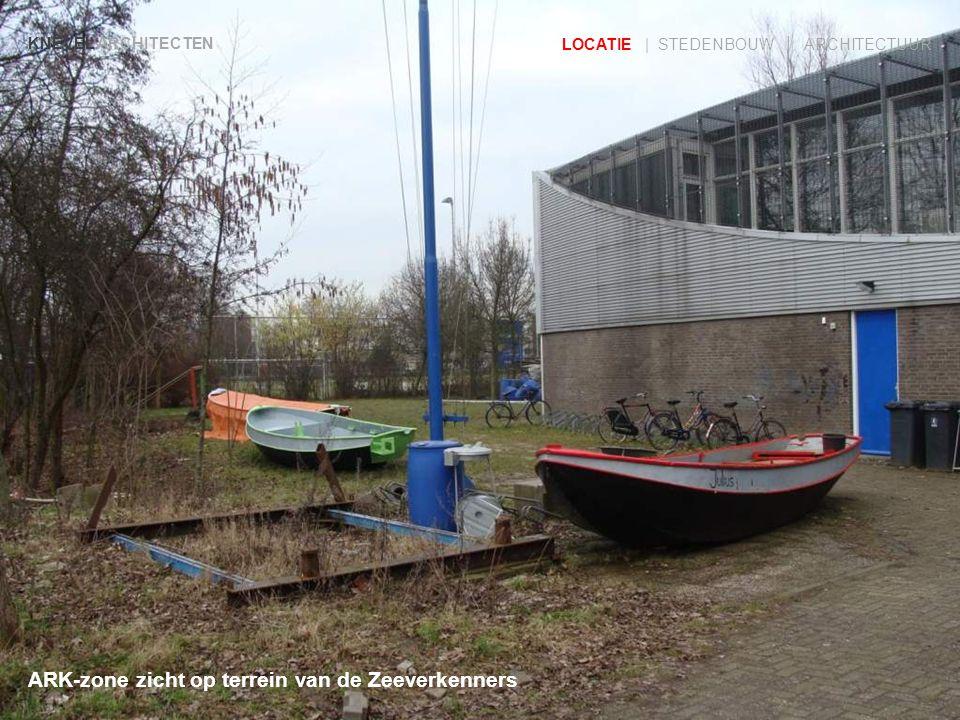 ARK-zone zicht op terrein van de Zeeverkenners KNEVEL ARCHITECTEN LOCATIE | STEDENBOUW | ARCHITECTUUR