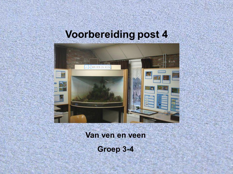 Welkom bij IVN Valkenswaard-Waalre Dit is de Powerpointserie als voorbereiding op post 4: Van ven en veen voor groep 3 en 4.