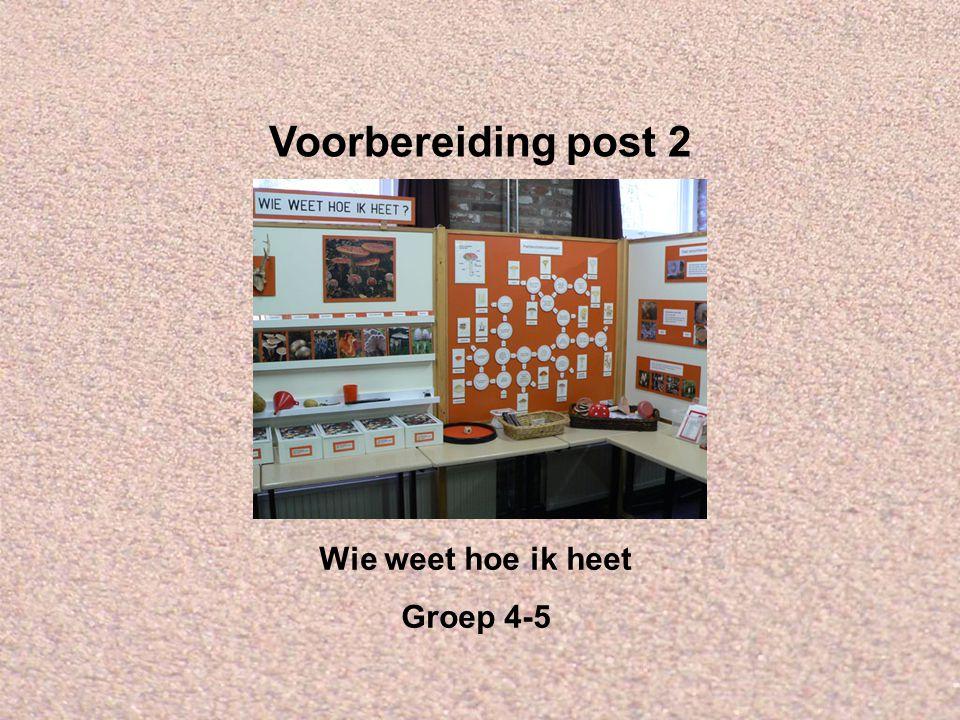 Welkom bij IVN Valkenswaard-Waalre Dit is de Powerpointserie als voorbereiding op post 2: Wie weet hoe ik heet, voor groep 4 en 5.