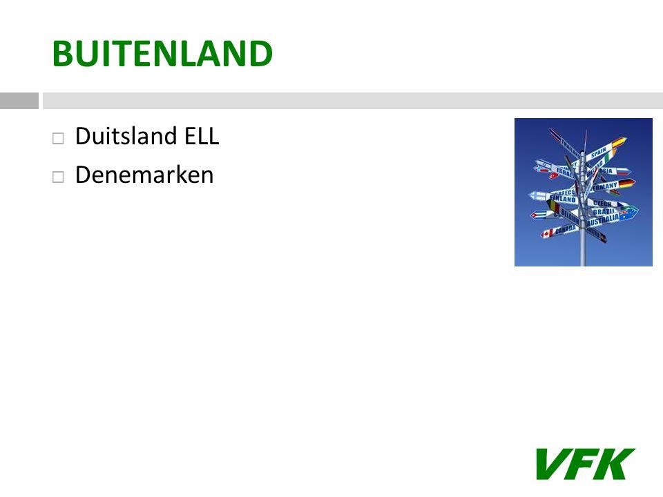 VFK BUITENLAND  Duitsland ELL  Denemarken