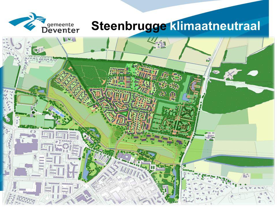 Steenbrugge klimaatneutraal