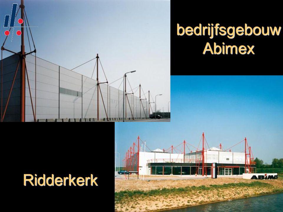 bedrijfsgebouw Abimex Ridderkerk