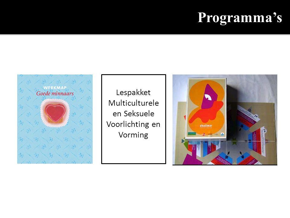 Programma's Lespakket Multiculturele en Seksuele Voorlichting en Vorming