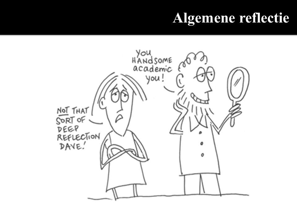 Algemene reflectie