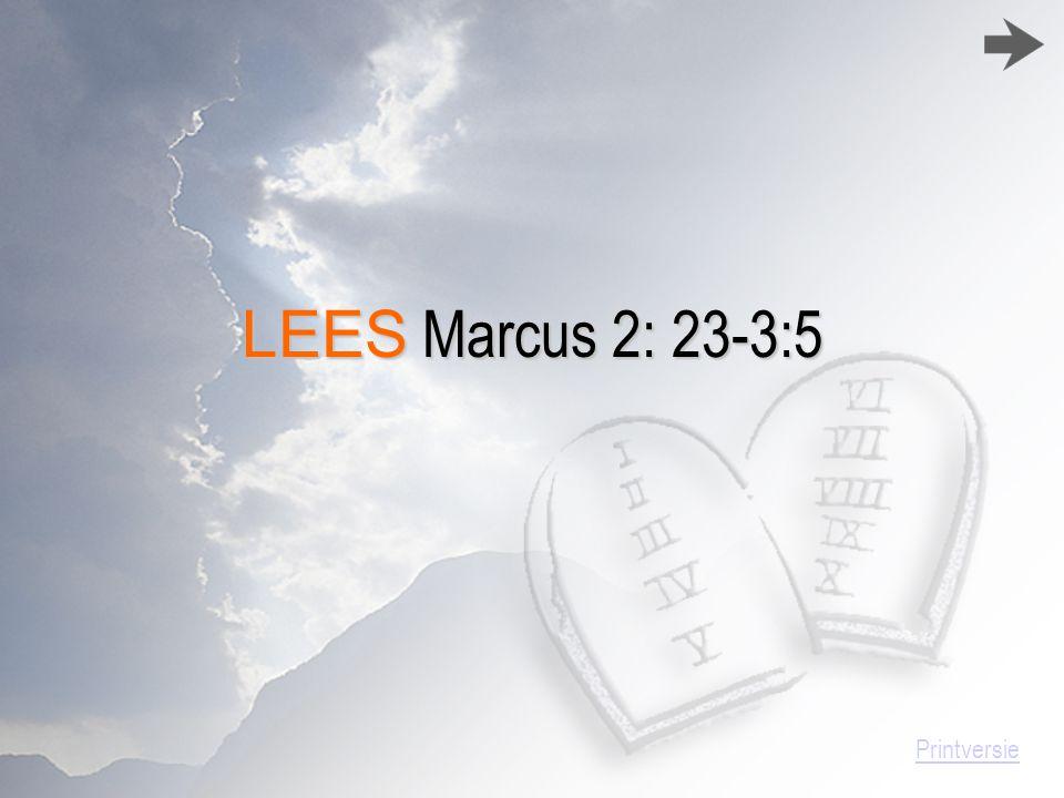 STATENVERTALING 23 En het geschiedde, dat Hij op een sabbatdag door het gezaaide ging, en Zijn discipelen begonnen, al gaande, aren te plukken.