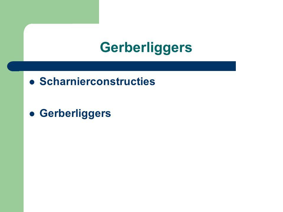 Gerberliggers Scharnierconstructies Gerberliggers