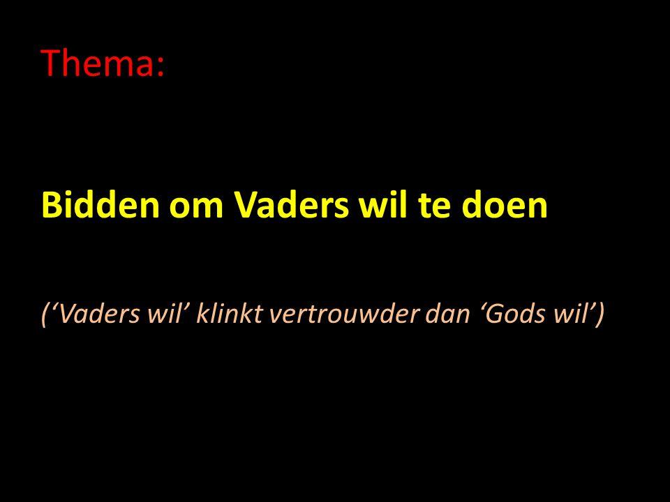 2.Zelfverloochening Vaders wil is wet in Gods koninkrijk Gehoorzaamheid is lastig.