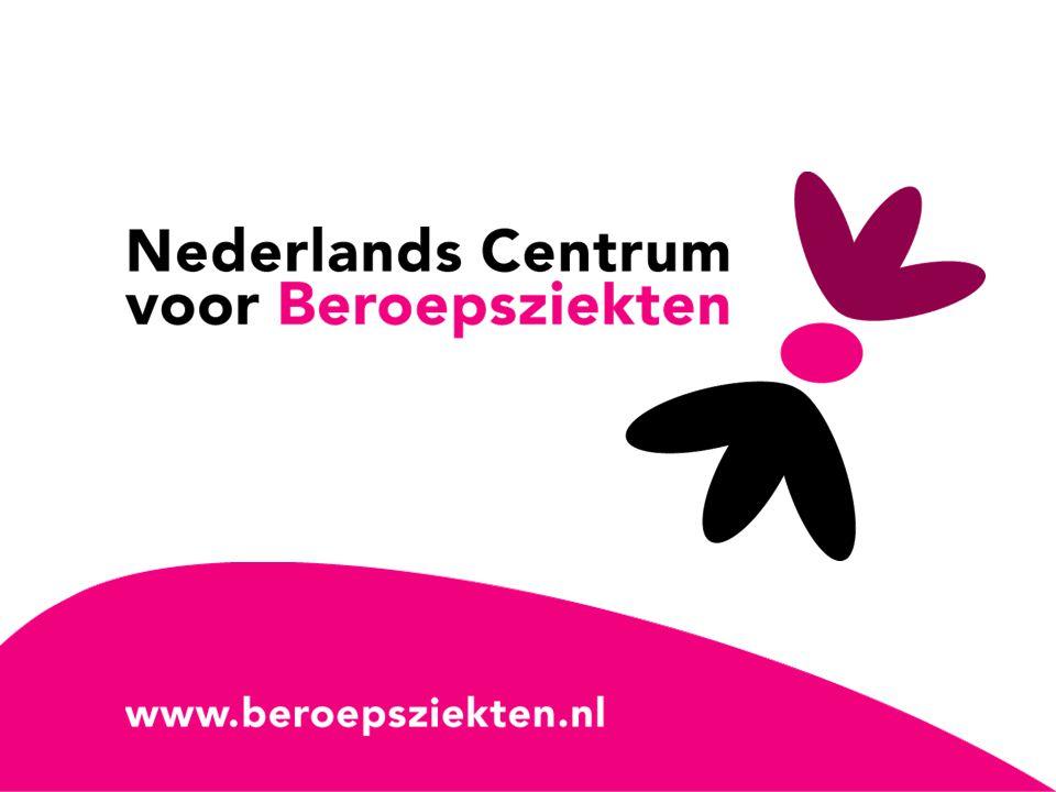 Coronel Instituut, Academisch Medisch Centrum Amsterdam Het Arbeidsdermatosen Surveillance project en meldingen vanuit de bouwnijverheid Teake Pal