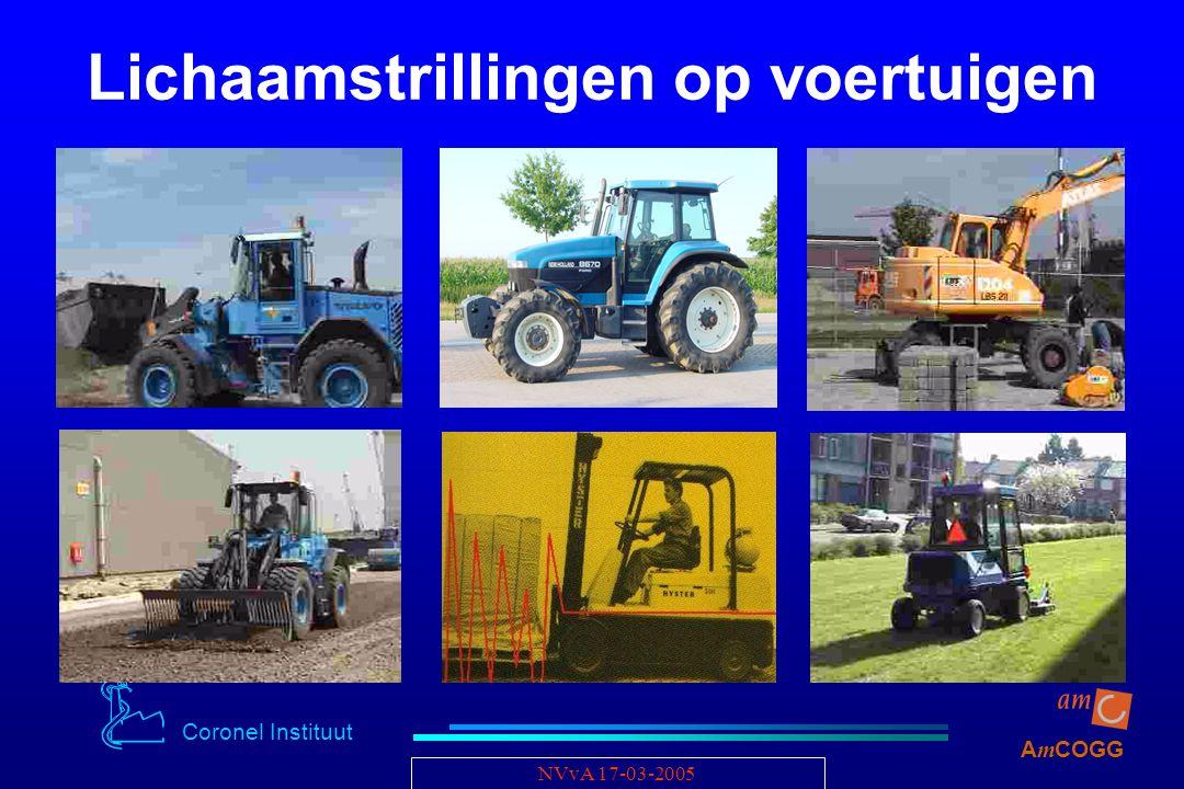 Coronel Instituut A m COGG NVvA 17-03-2005 Lichaamstrillingen op voertuigen