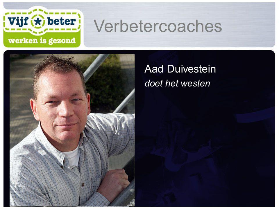Aad Duivestein doet het westen Verbetercoaches
