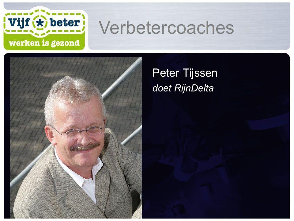 Peter Tijssen doet RijnDelta Verbetercoaches