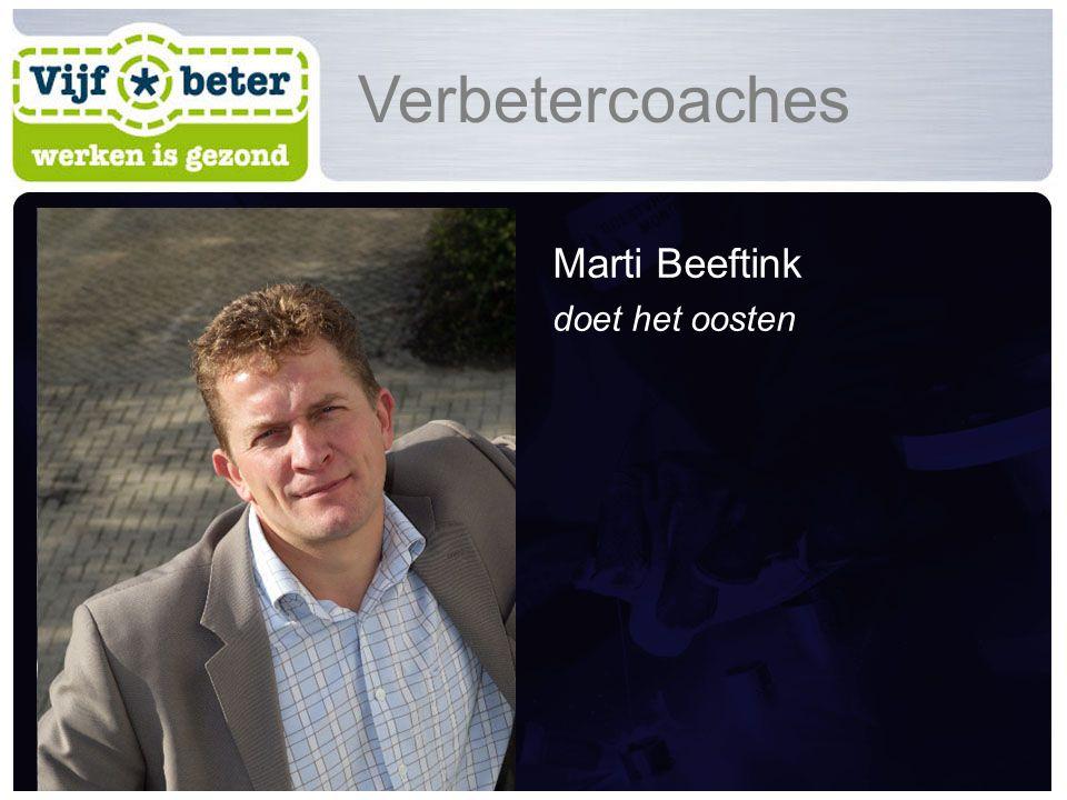 Marti Beeftink doet het oosten Verbetercoaches